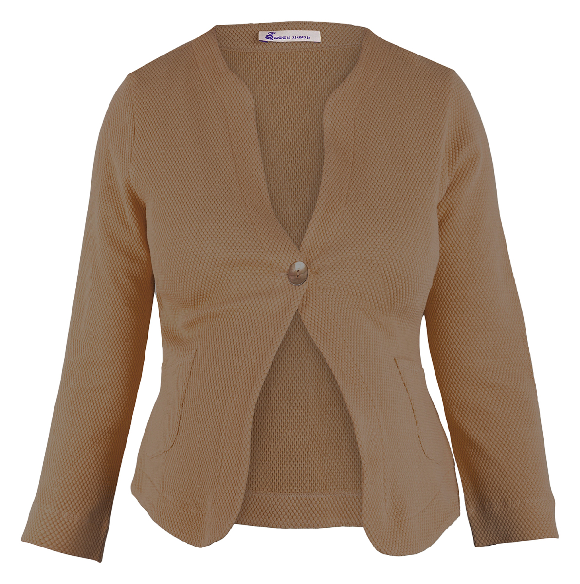 Queen mum Blazer - Brown - Positiekleding