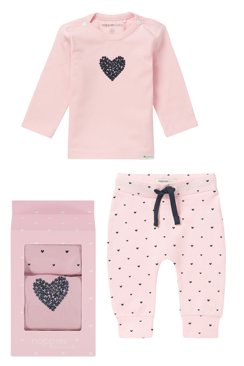 noppies Cadeauverpakking basic - Light Rose - Babykleding
