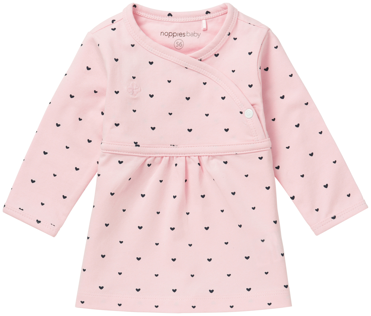 noppies Jurk Nevada - Light Rose - Babykleding