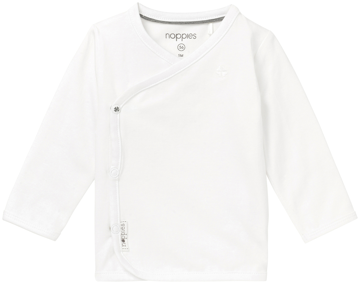 noppies Longsleeve Little - White - Babykleding
