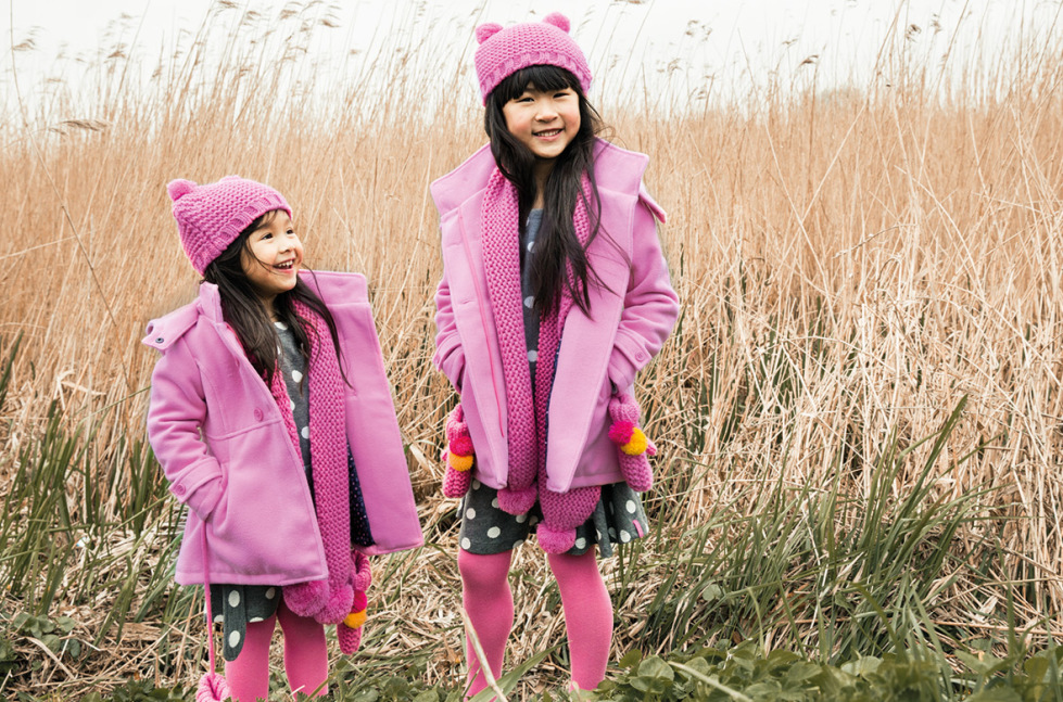 Pink jackets for kids