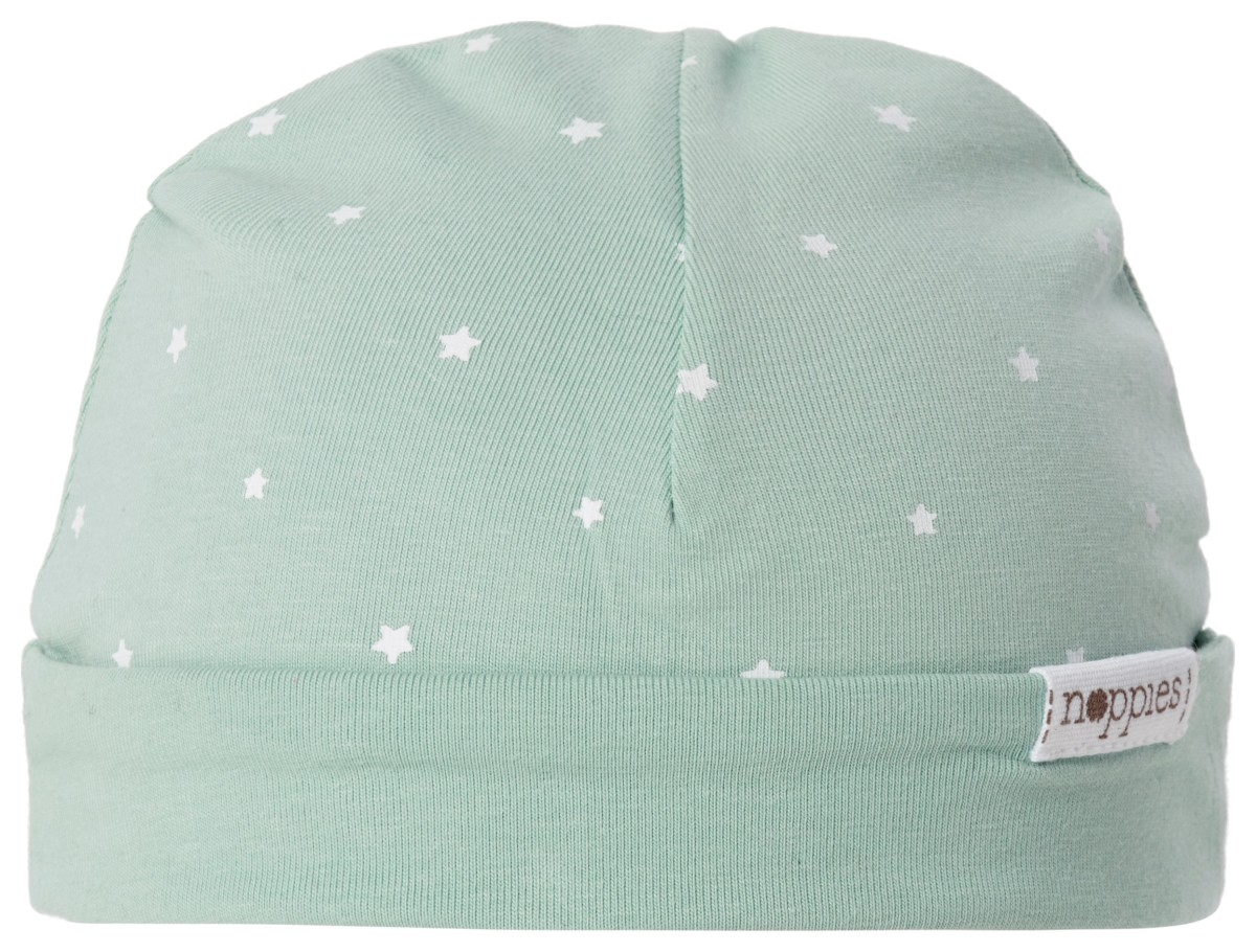 Noppies Bonnet Dani grey-mint