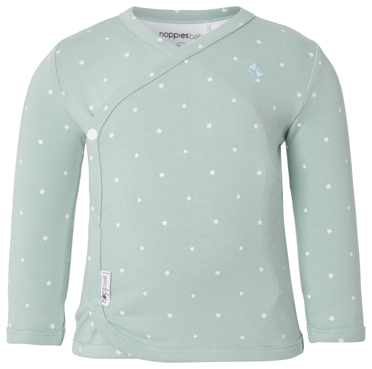 Noppies Langarmshirt Anne grey-mint