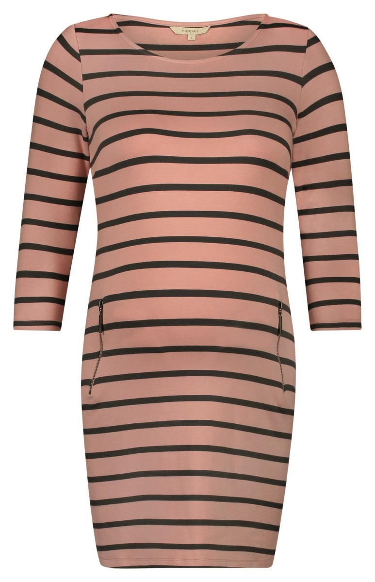 Noppies Jurk Anke pink-stripe
