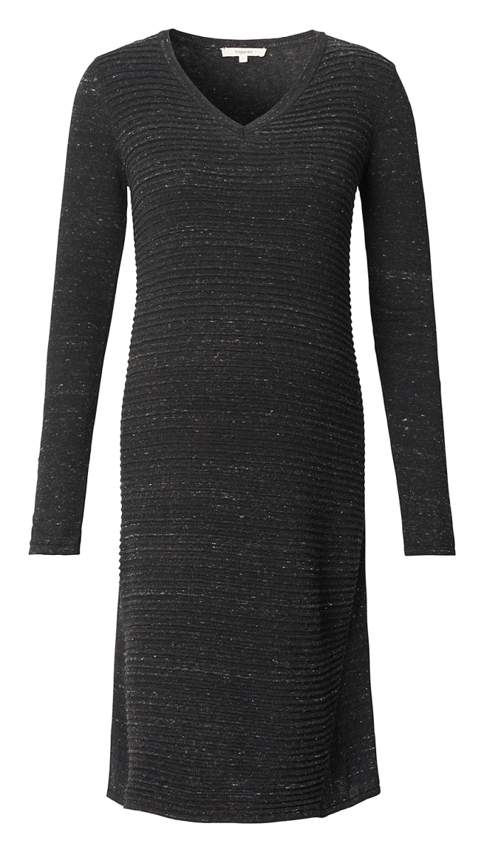 Noppies Kleid Helen anthracite-melange