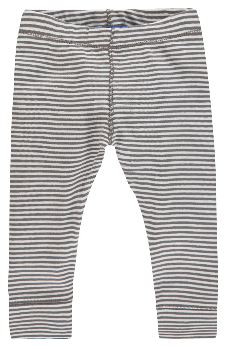 IMPS&ELFS Legging Kay Stripe Print stone-grey-off-white