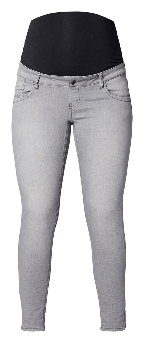 1925af4afc409 Queen mum Slim jeans – Maternity clothes Grey Denim