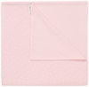 Noppies Babydecke Nusco 75x100 cm light-pink
