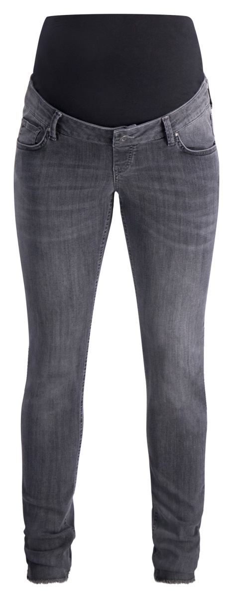 Queen mum Jegging Odile grey-denim