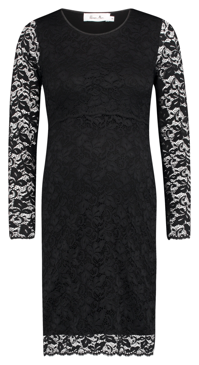 Queen mum Nursing dress black