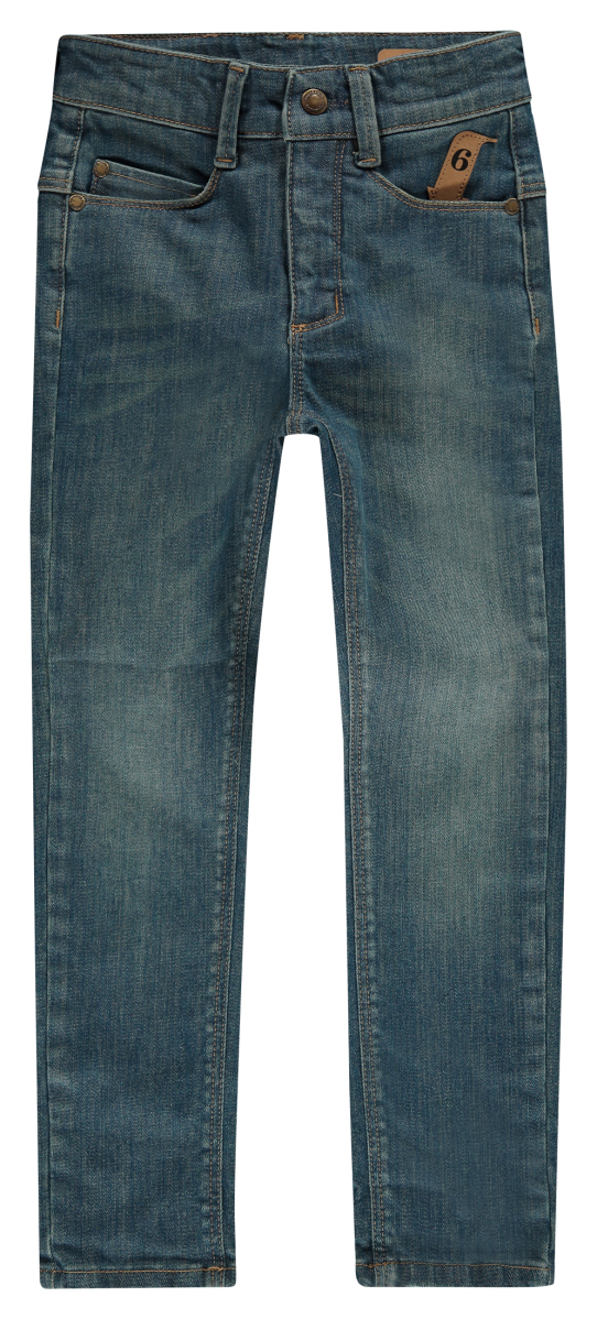 Jeans Tapered High Waist Fit