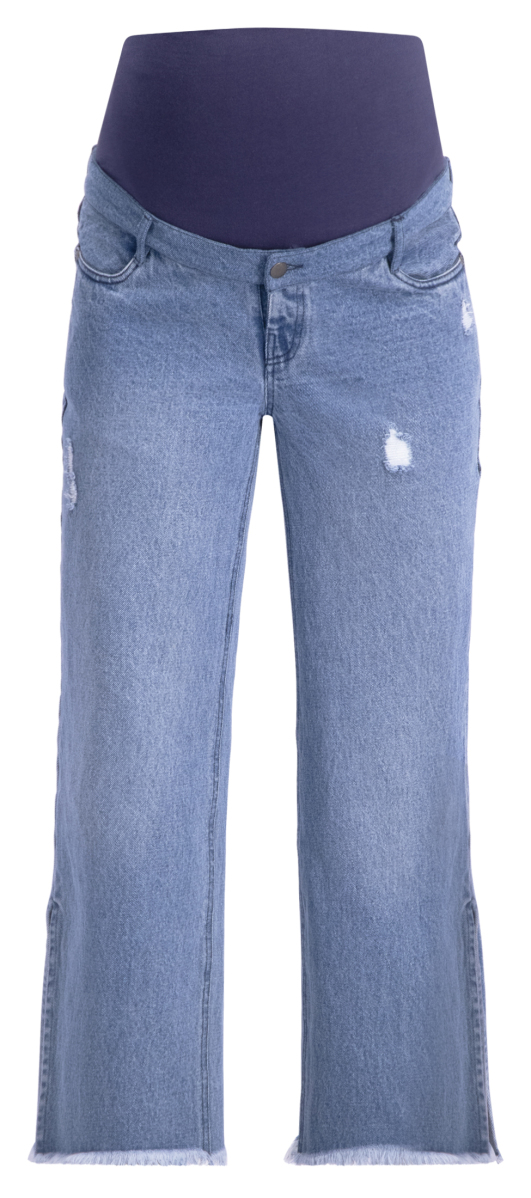 Supermom Jean droit Culotte blue-denim