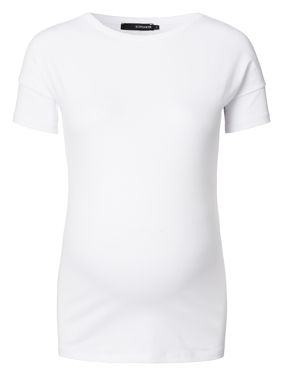 Supermom T-shirt Basic Plus white