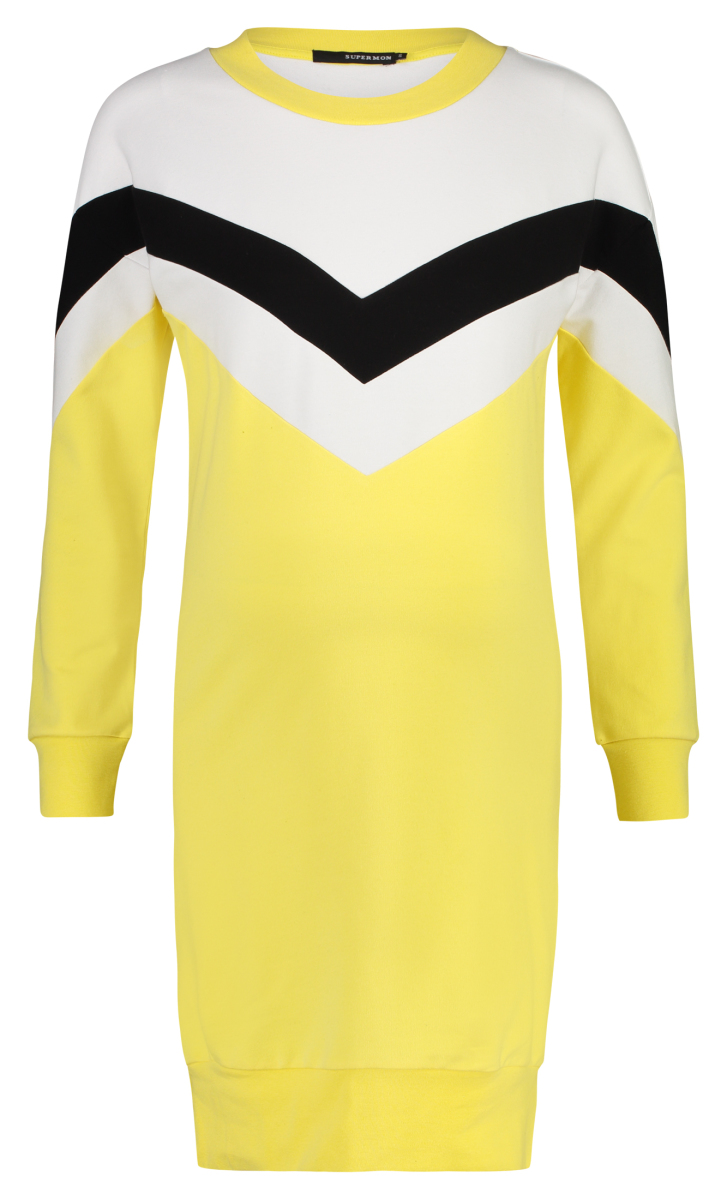 Jurk Colourblock