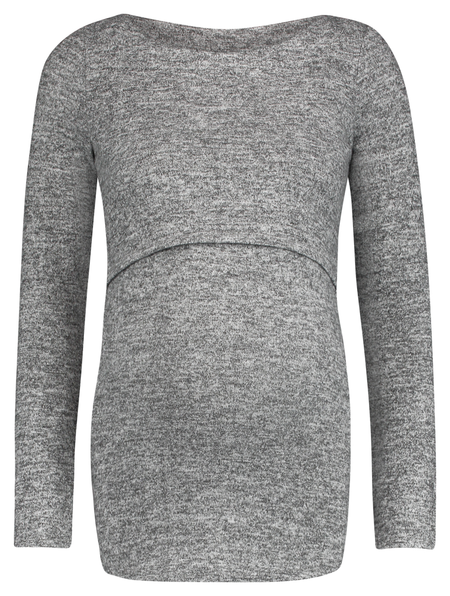 Noppies Voedingsshirt Nanette light-grey-melange