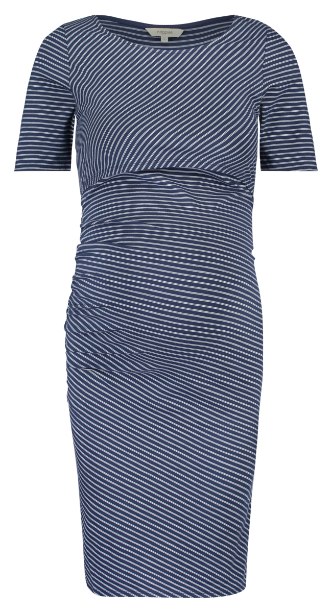 Noppies Nursing dress Nileah dark-blue