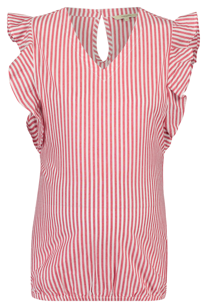 Noppies Blouse Oakey crimson-stripe
