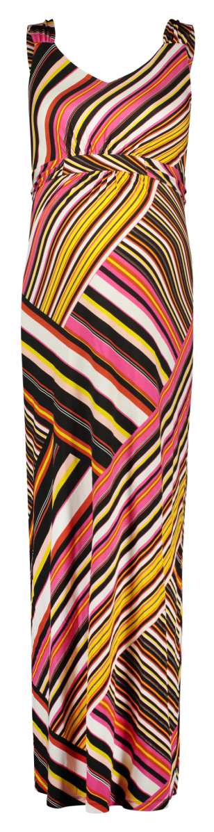 Queen mum Robe Maxi multicolor-stripe