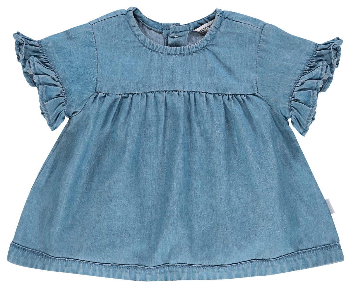 Noppies Kleid Poulsbo light-blue-wash