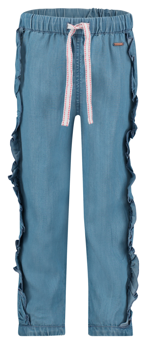 Noppies Trousers Ruffle Pharr light-blue-wash
