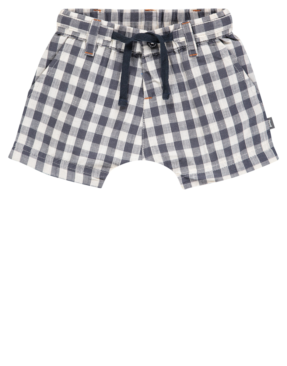 IMPS&ELFS Shorts North Carolina ombre-blue-check