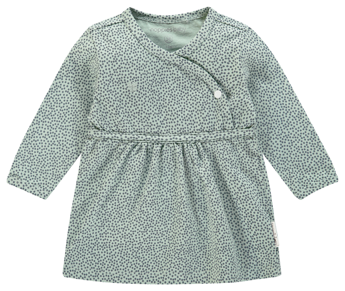 Noppies Robe Mattie grey-mint
