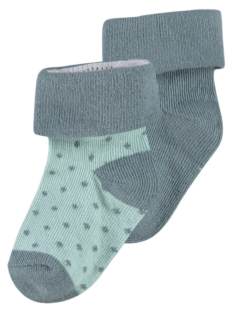Noppies Chaussettes (2 paires) Dot dark-green
