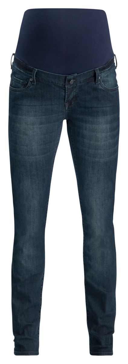 Noppies Straight Umstandsjeans Beau midnight-blue
