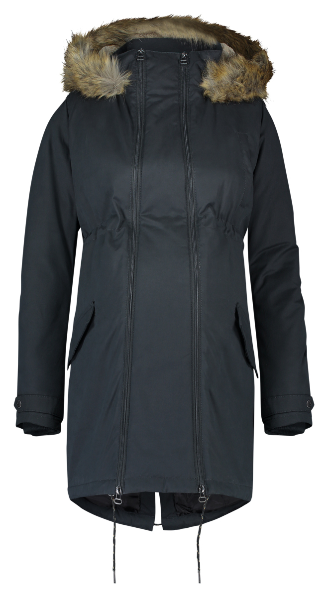 Noppies Manteau d'hiver Malin 2-way black