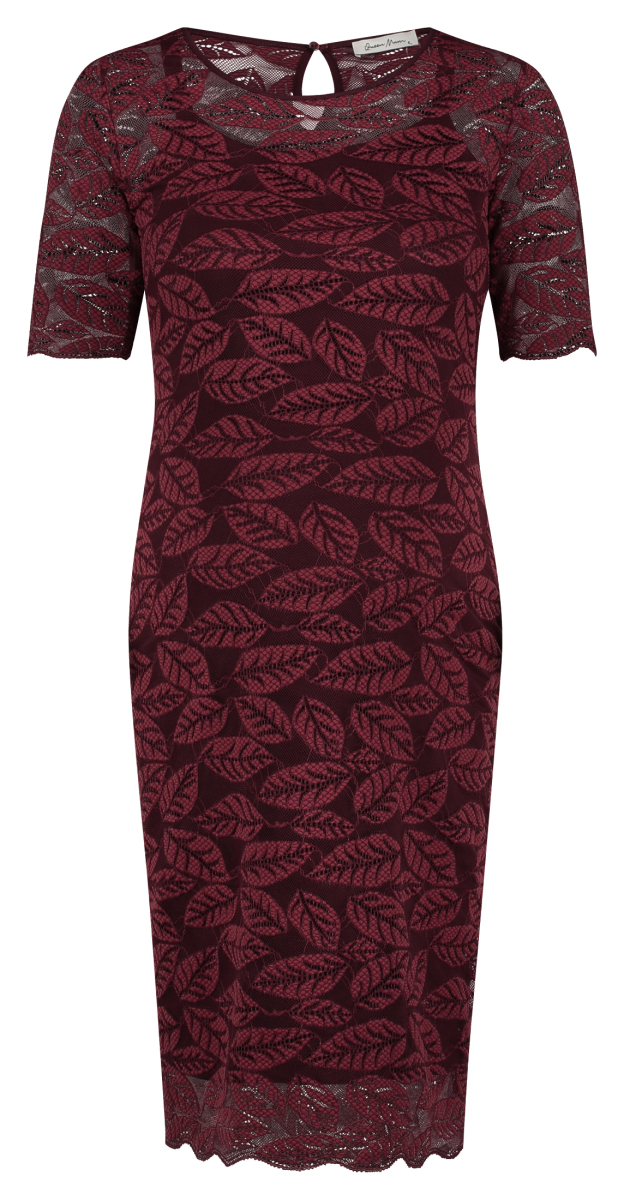 Queen mum Robe Dresses cabernet