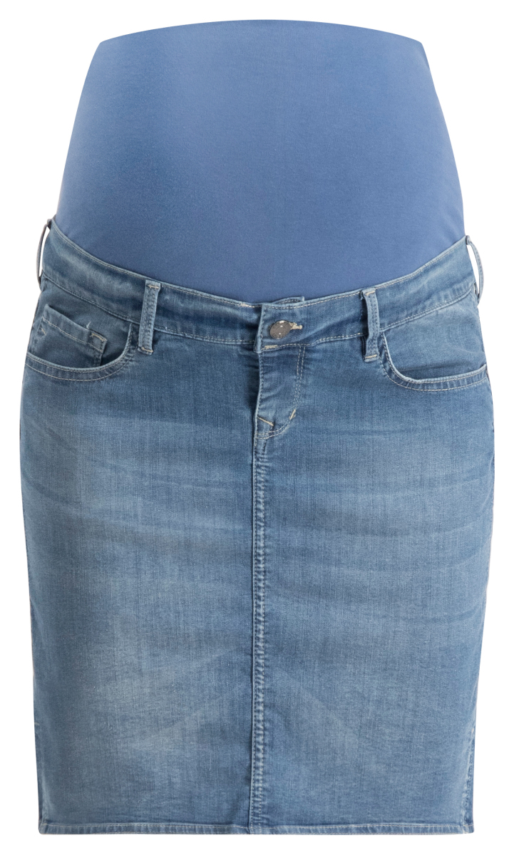 Noppies Umstandsrock Jeans Bree aged-blue