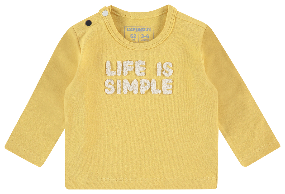IMPS&ELFS Longsleeve Queenstown cream-gold