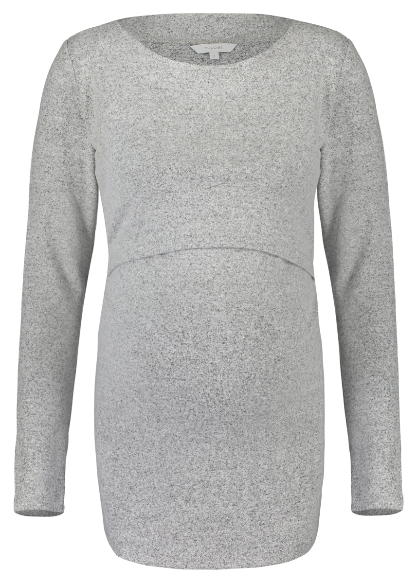 Noppies Voedingsshirt Lane grey-melange