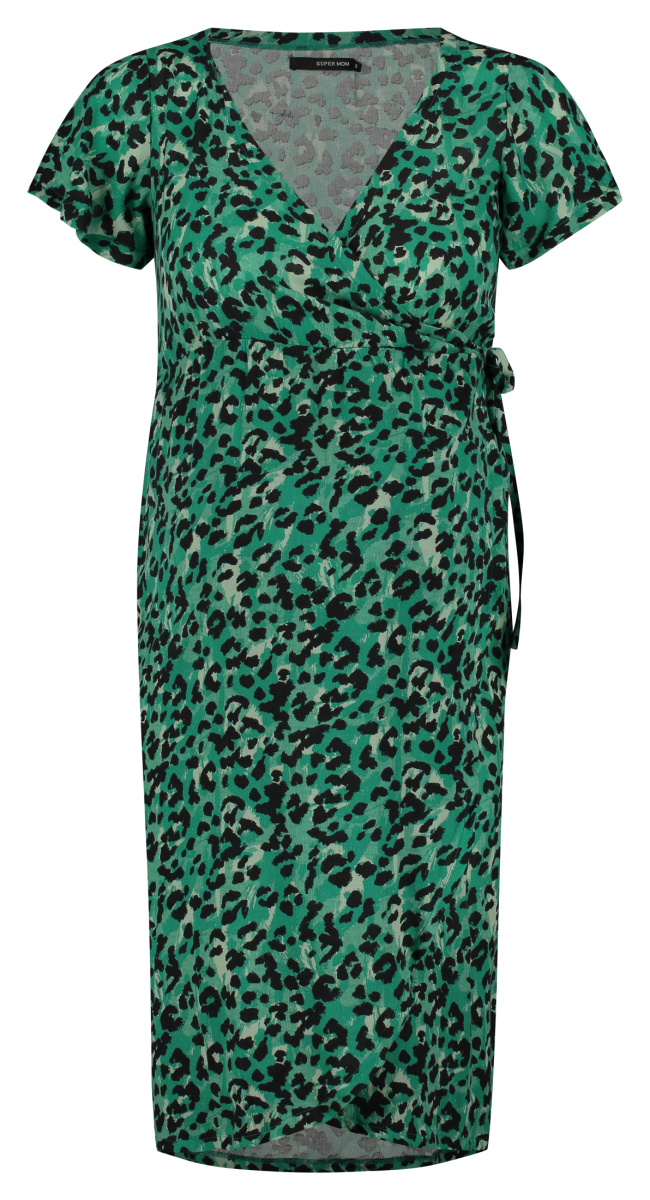 Supermom Robe Sea Leopard sea-green