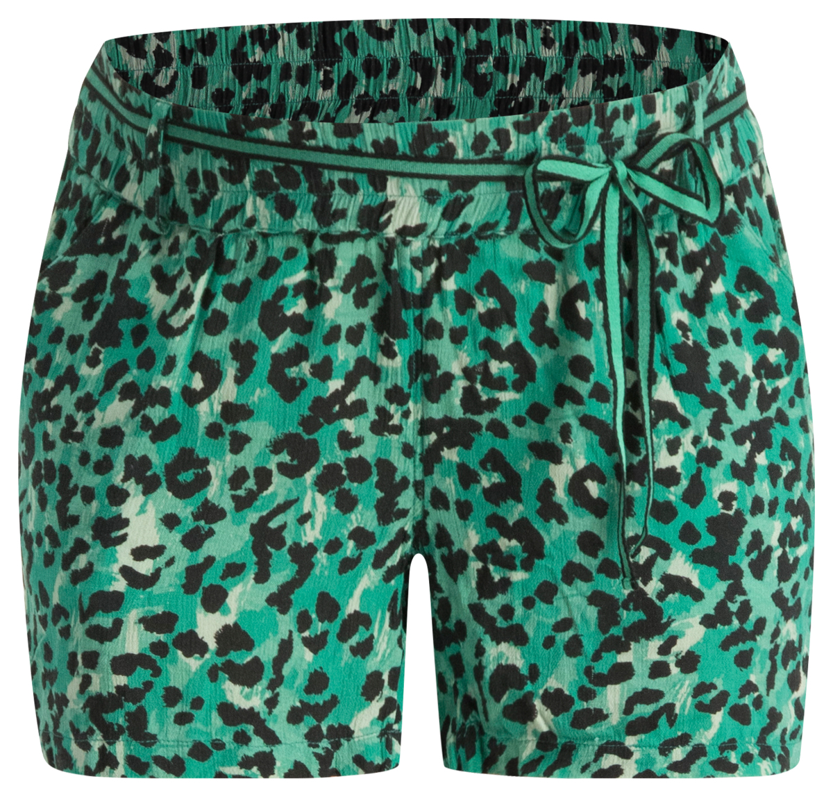 Supermom Short Sea Leopard sea-green