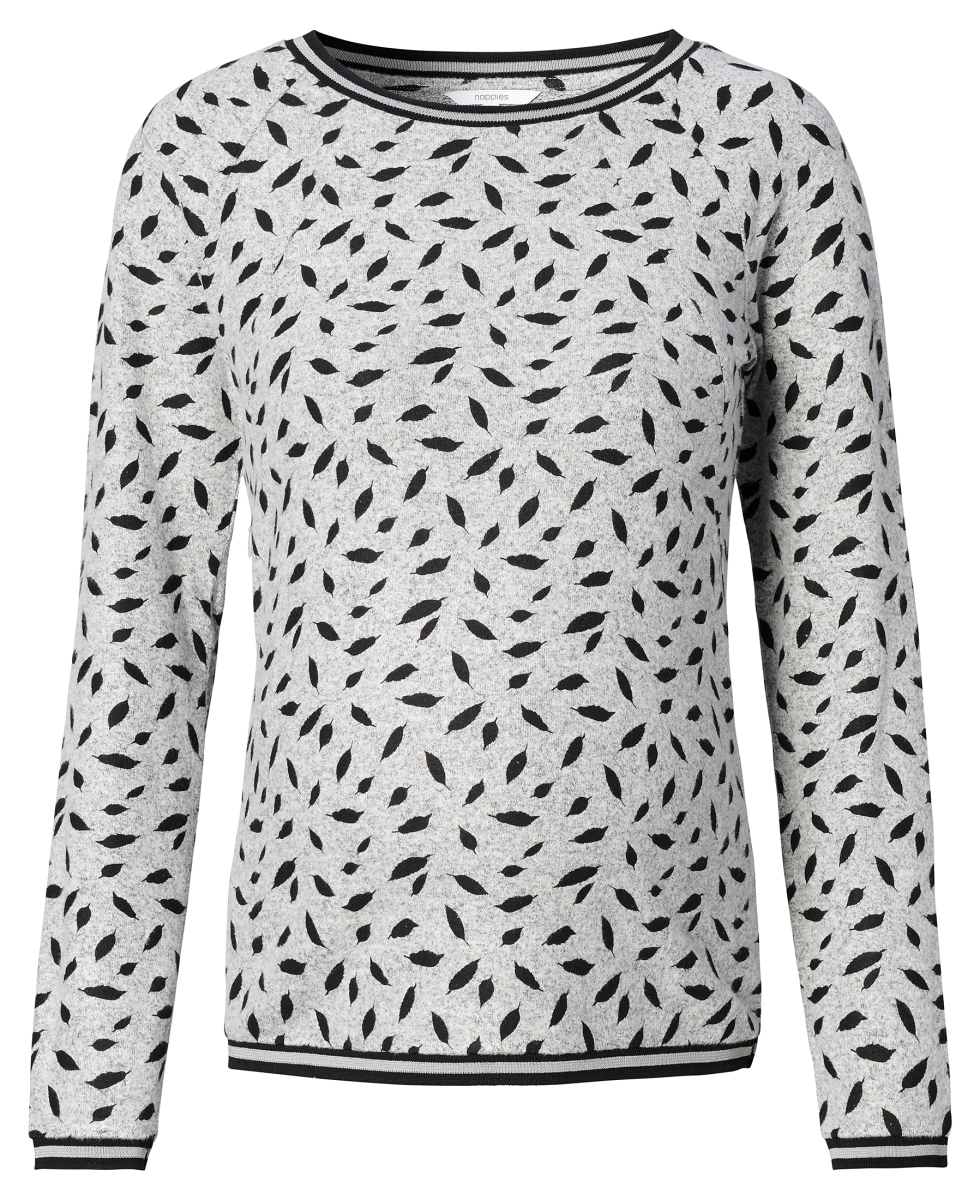 Noppies Nursing shirt Buxton grey-melange