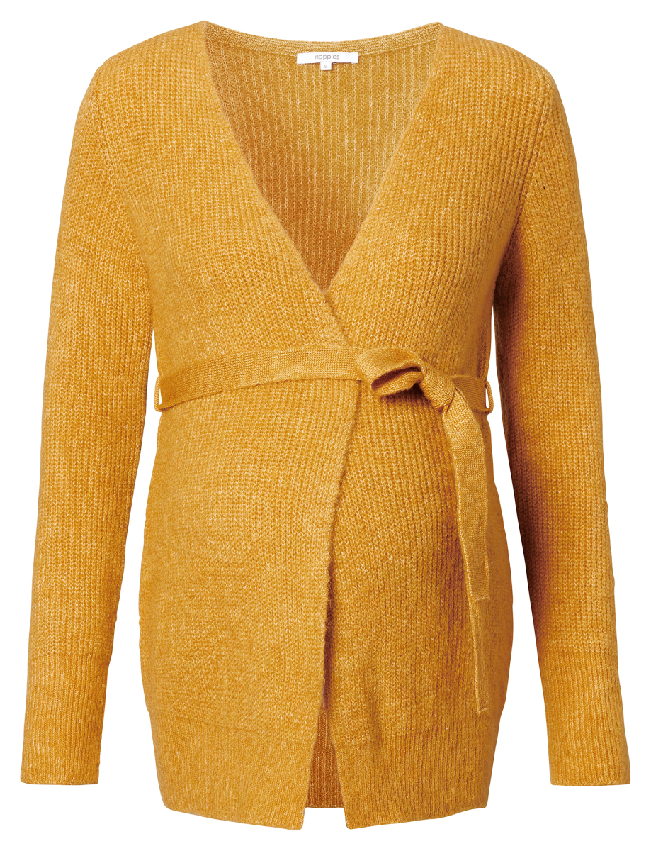 Noppies Strickjacke Bourne harvest-gold