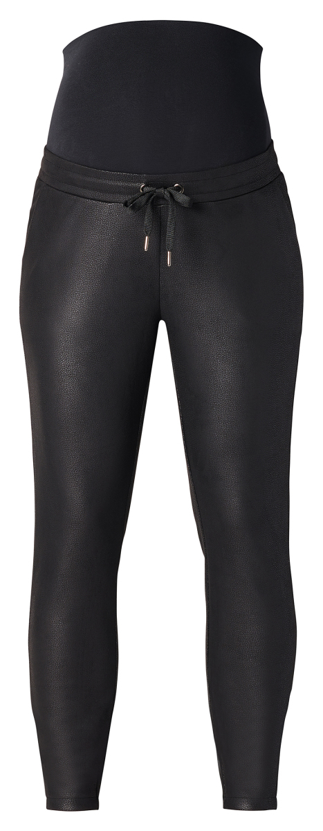 Supermom Slim trousers PU Black black