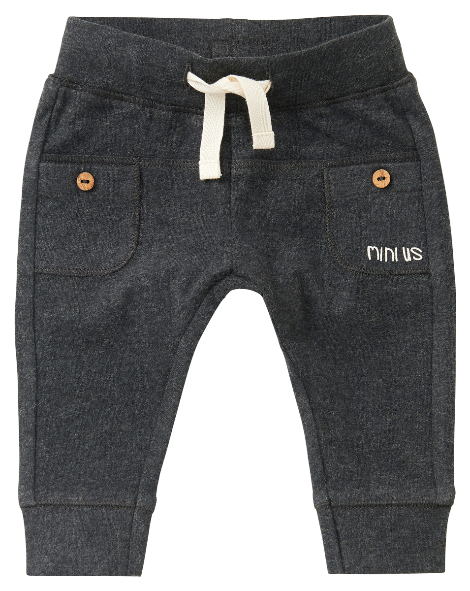 Noppies Sweatpants Clewer ras81-charcoal-melange