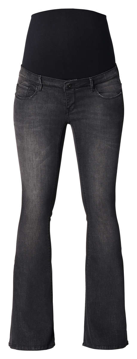 Supermom Flared jeans Flared Black washed-black