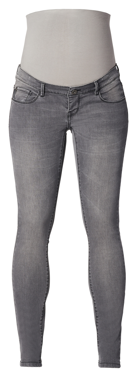 Supermom Skinny Umstandsjeans Grey denim grey-denim