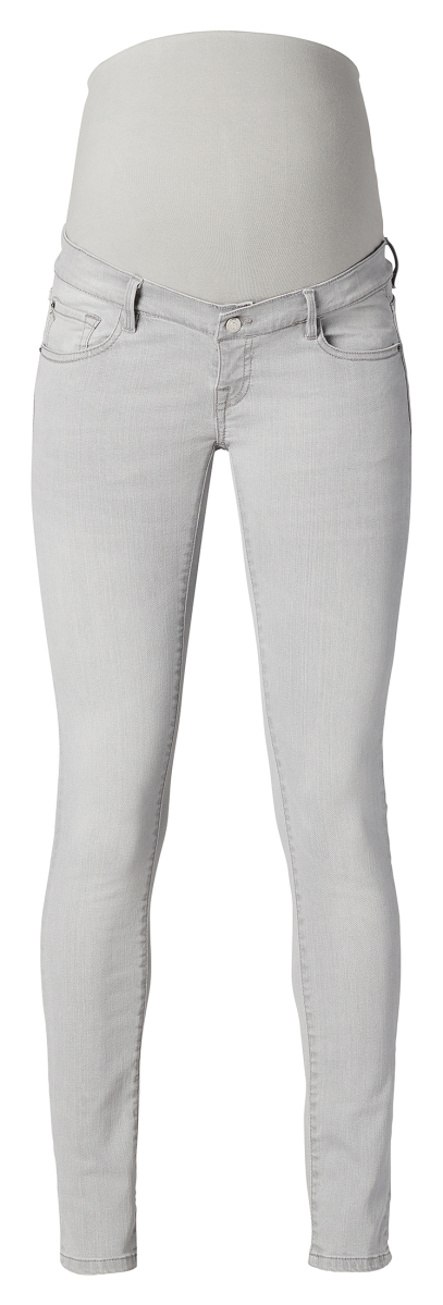 Noppies Skinny Umstandsjeans Avi Light Aged Grey light-aged-grey