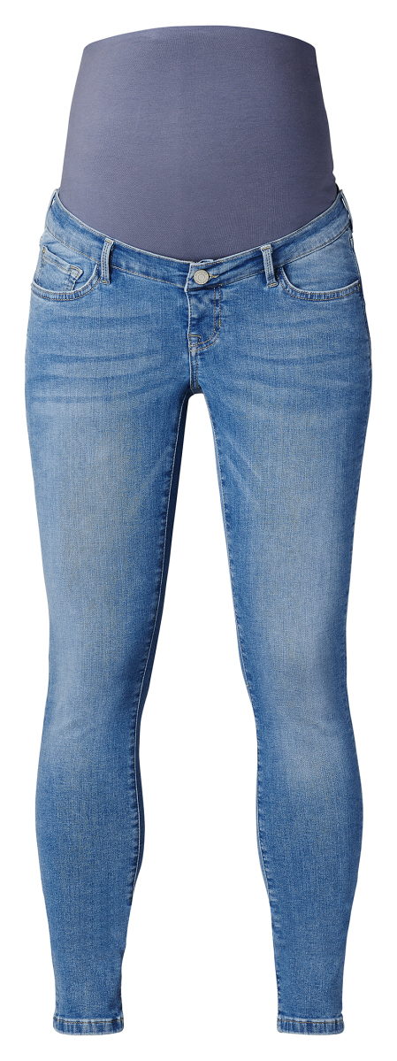 Noppies Skinny Umstandsjeans Avi Light Aged Blue light-aged-blue