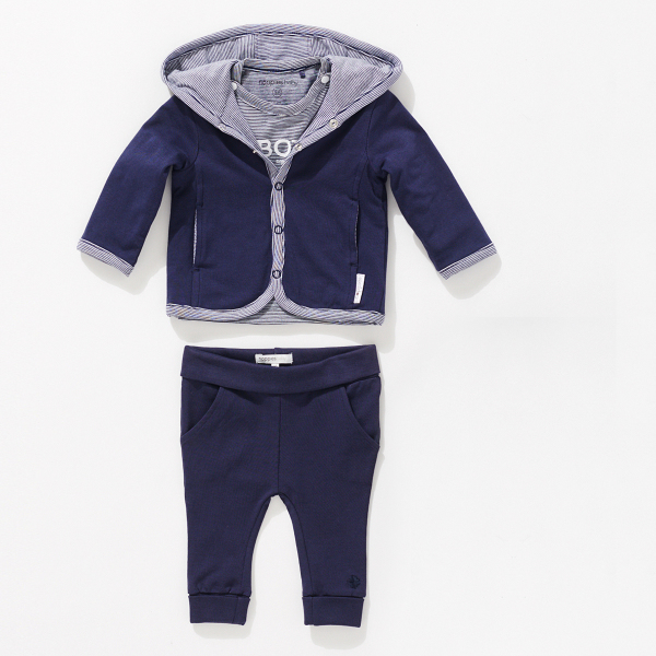 Noppies Kids B Cardigan Jersey Rev Joke Punto para Ni/ños
