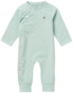 Noppies Strampler Lou grey-mint