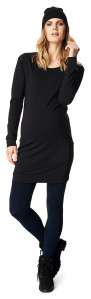Dress Black PU