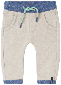 Noppies Pantalon de survêtement Erwin off-white-melange