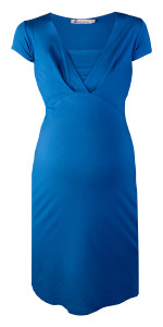 Queen mum Still-Kleid princess-blue