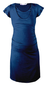 Queen mum Still-Kleid dark-blue