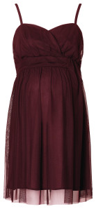 Esprit Jurk burgundy-night
